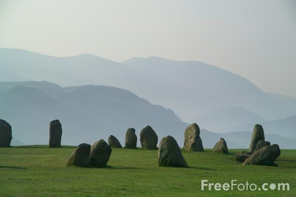 Picture of Castlerigg Stone Circle near Keswick - Free Pictures - FreeFoto.com