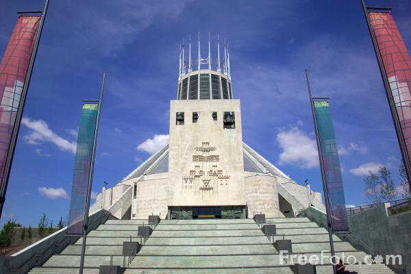 Picture of Liverpool Roman Catholic Cathedral - Free Pictures - FreeFoto.com