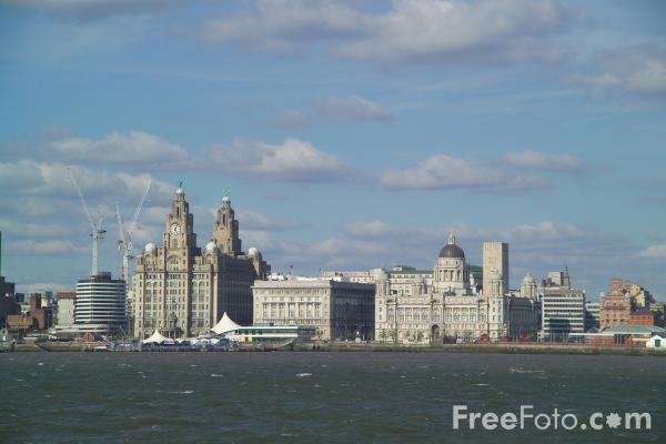 Picture of Liverpool Skyline - Free Pictures - FreeFoto.com