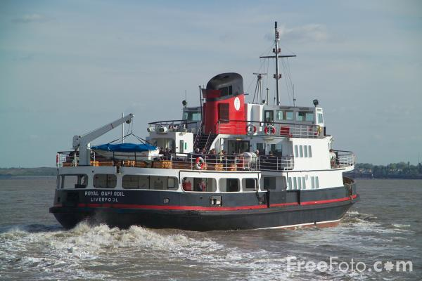 Picture of The world famous Mersey Ferry - Free Pictures - FreeFoto.com
