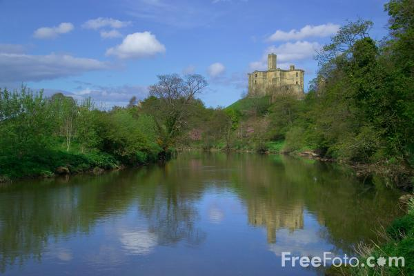 Picture of Warkworth Castle, Northumberland - Free Pictures - FreeFoto.com