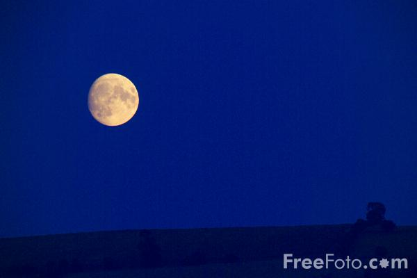 Picture of Moonrise - Free Pictures - FreeFoto.com
