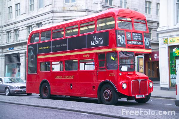 Picture of Routemaster Bus, London - Free Pictures - FreeFoto.com