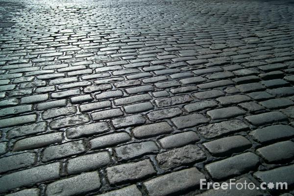 Picture of Cobbled Street, Newcastle upon tyne - Free Pictures - FreeFoto.com