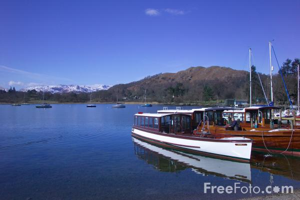 Picture of Lake Windermere, Ambleside - Free Pictures - FreeFoto.com