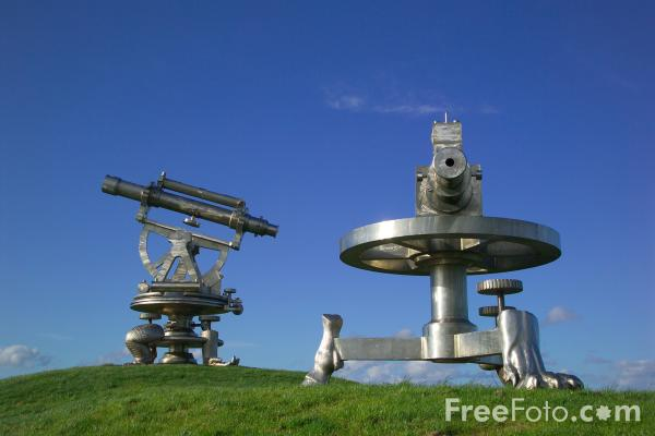 Picture of Terris Novalis Sculpture, Consett, County Durham - Free Pictures - FreeFoto.com