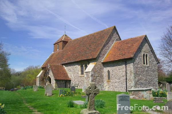 Picture of St Mary the Virgin Parish Church, Friston, East Sussex - Free Pictures - FreeFoto.com