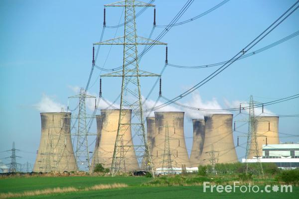 Picture of Eggborough Power Station - Free Pictures - FreeFoto.com