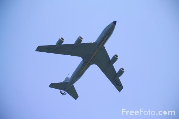 Picture of United States Air Forces in Europe USAFE Boeing KC-135 Stratotanker - Free Pictures - FreeFoto.com