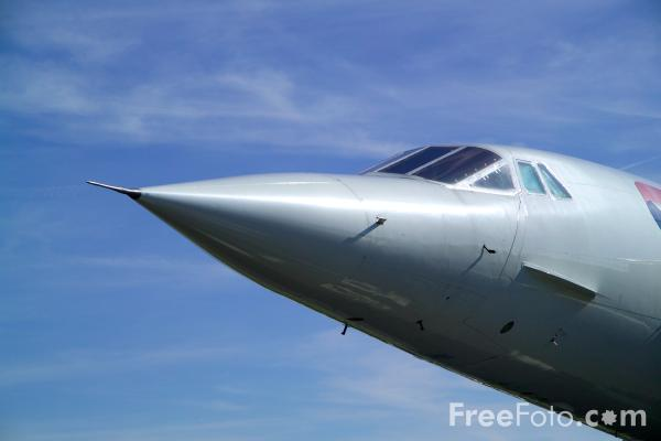 Picture of Concorde G-BOAC - Free Pictures - FreeFoto.com