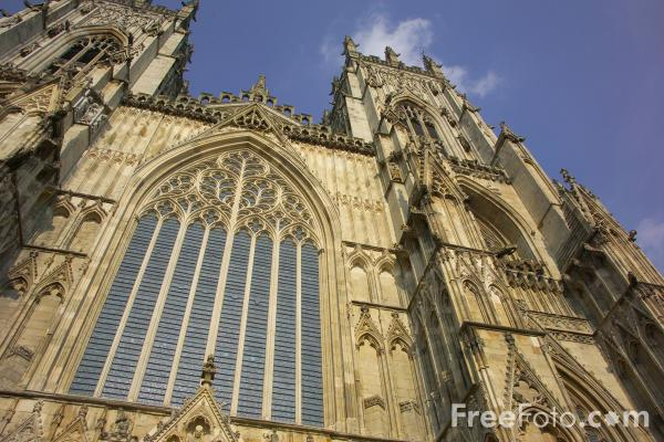 Picture of Evening light on York Minster - Free Pictures - FreeFoto.com