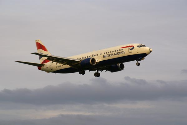 Picture of British Airways Boeing B737-436 G-DOCO - Free Pictures - FreeFoto.com
