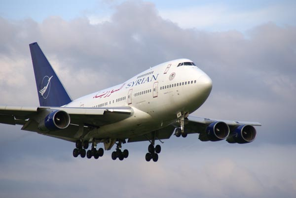 Picture of Syrian Airlines Boeing 747SP - Free Pictures - FreeFoto.com