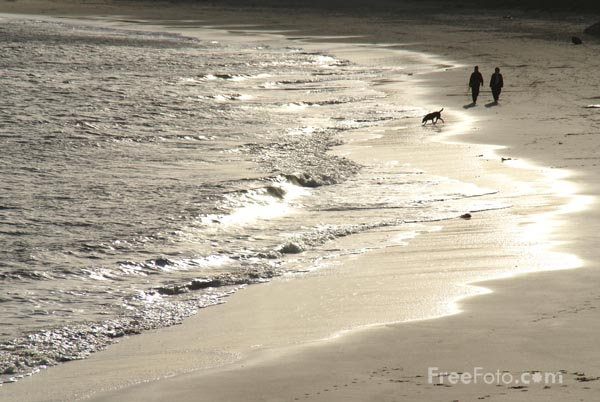 Picture of The Beach, Whitley Bay, Tyne & Wear - Free Pictures - FreeFoto.com