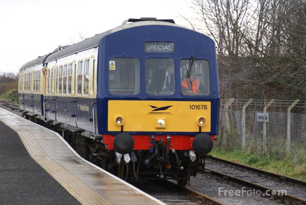 Picture of Wensleydale Railway - Free Pictures - FreeFoto.com