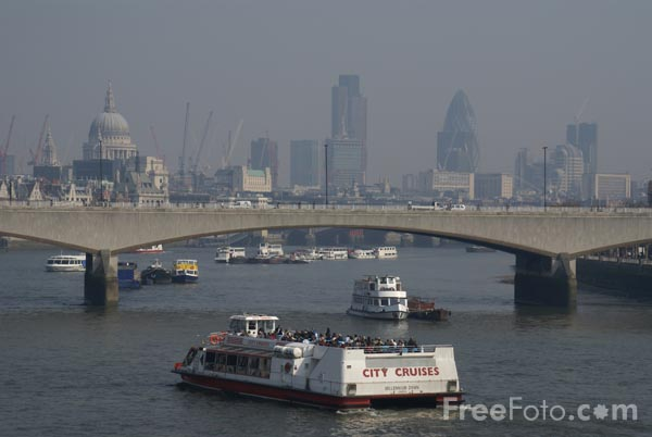 Picture of River Thames, London, England - Free Pictures - FreeFoto.com
