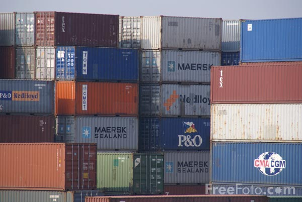 Picture of ISO containers - Free Pictures - FreeFoto.com