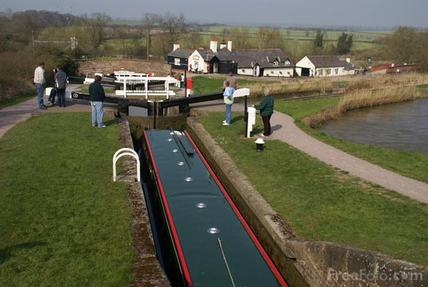 Picture of Foxton Locks, Leicestershire, England - Free Pictures - FreeFoto.com