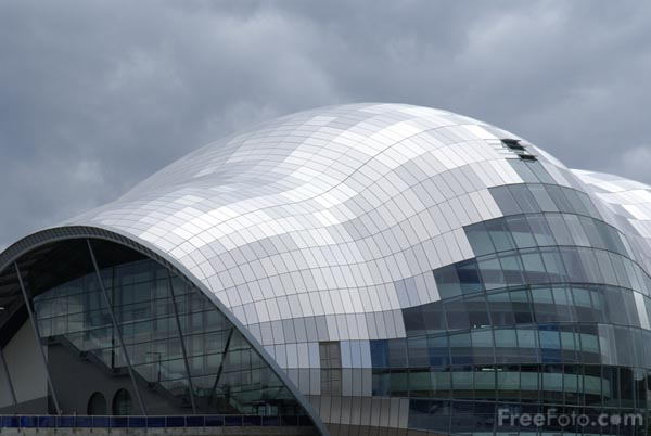 Picture of Sage Gateshead - Free Pictures - FreeFoto.com