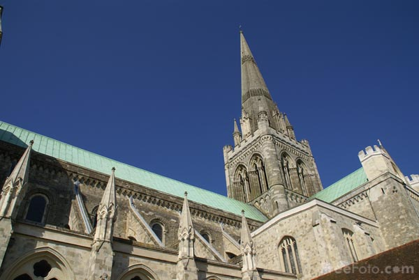 Picture of Chichester Cathedral, West Sussex, England. - Free Pictures - FreeFoto.com