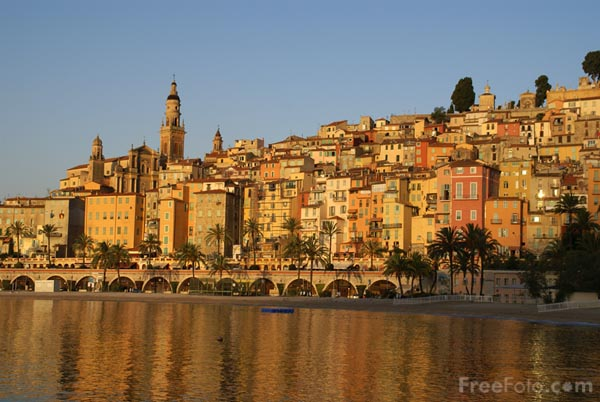 Picture of Menton, Cote d'Azur, France - Free Pictures - FreeFoto.com