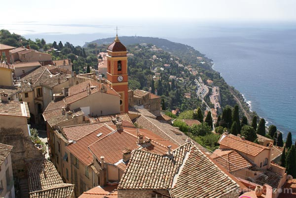 Picture of Roquebrune, Cote d'Azur, France - Free Pictures - FreeFoto.com