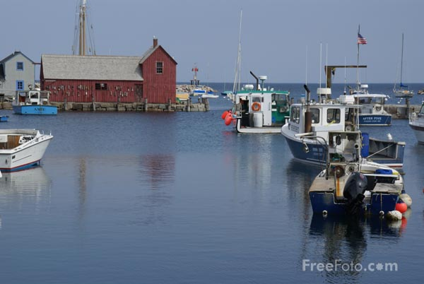 Picture of Motif #1 Rockport MA - Free Pictures - FreeFoto.com