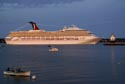 Image Ref: 9907-09-22 - Cruise Ship Carnival Victory, Portland, Maine, Viewed 11084 times