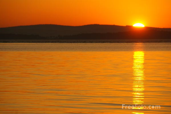 Picture of Sunset, Wadsworth Cove, Maine, USA - Free Pictures - FreeFoto.com