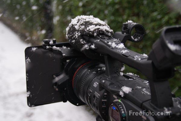 Picture of Canon HDV Video Camera - Free Pictures - FreeFoto.com