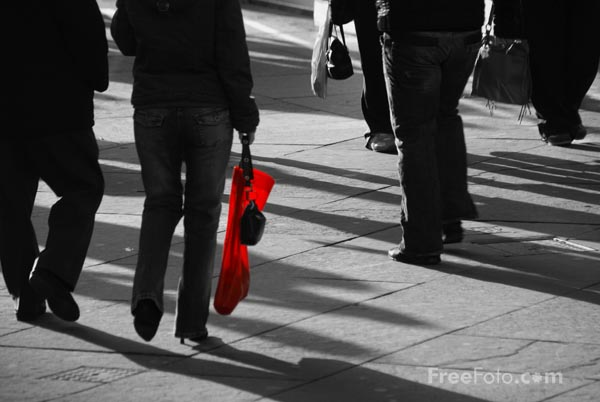 Picture of Red Bag - Free Pictures - FreeFoto.com