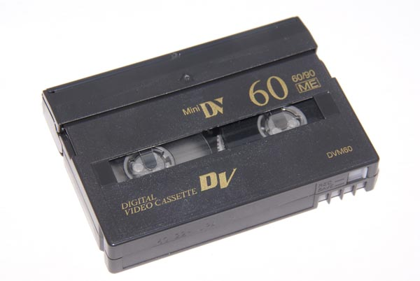 Picture of Mini DV Digital Video Tape - Free Pictures - FreeFoto.com