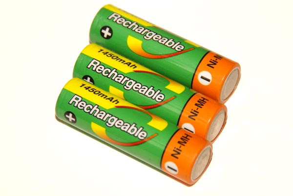 Picture of Rechargeable Batteries - Free Pictures - FreeFoto.com