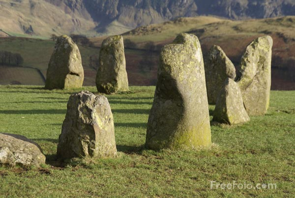 Picture of Castlerigg Stone Circle, Keswick - Free Pictures - FreeFoto.com