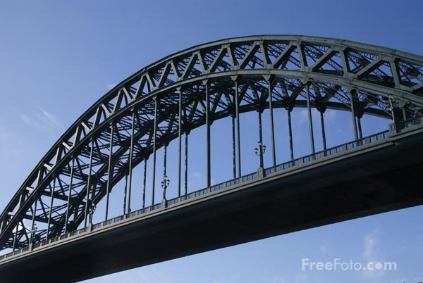 Picture of Tyne Bridge - Free Pictures - FreeFoto.com