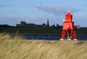 Image Ref: 9908-03-7 - Herd Groyne Lighthouse, River Tyne, South Shields., Viewed 8112 times