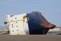 Image Ref: 9908-05-5 - MS Riverdance beached near Blackpool, Viewed 5849 times