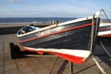 Fishing cobbles on Redcar sea front has been viewed 4695 times