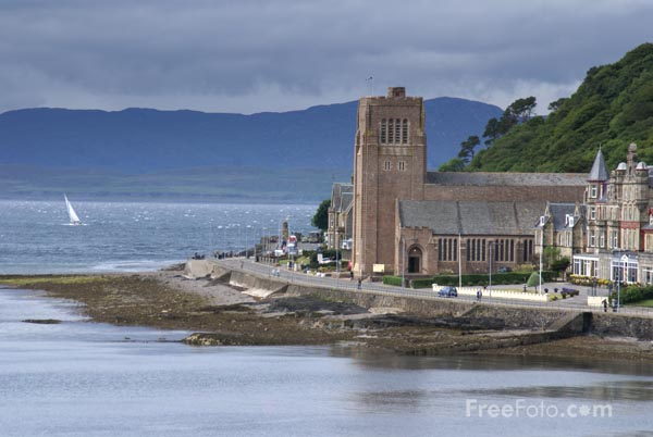 Picture of The Cathedral of St Columba, Oban - Free Pictures - FreeFoto.com