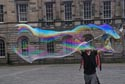 Image Ref: 9908-08-4077 - Large soap bubbles at the Edinburgh Fringe, Viewed 9227 times