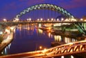 Newcastle Quayside at night has been viewed 6256 times