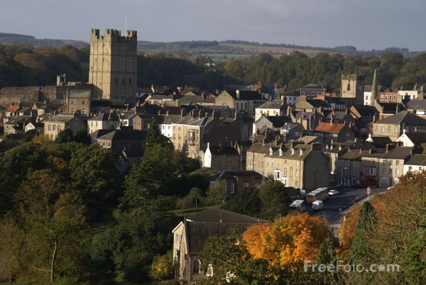 Picture of Richmond, North Yorkshire - Free Pictures - FreeFoto.com