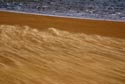 Wind blown sand on a beach has been viewed 10329 times
