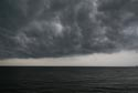 Storm clouds over the Mediterranean Sea has been viewed 6995 times