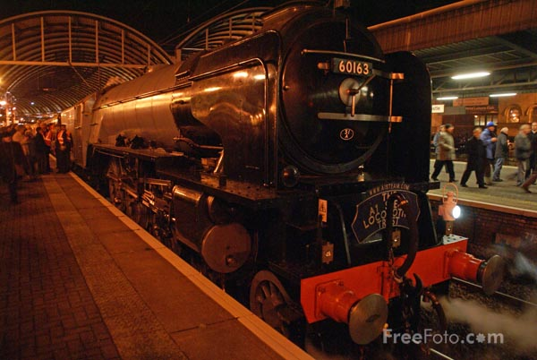 Picture of Brand new Peppercorn class A1 60163 Tornado - Free Pictures - FreeFoto.com