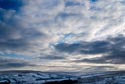 Dramatic winter sky has been viewed 31400 times