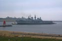 Image Ref: 9909-01-9004 - HMS Ark Royal arrives back on Tyneside, Viewed 5750 times