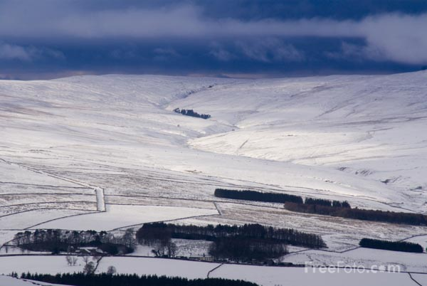 Picture of Alston Moor in the Winter - Free Pictures - FreeFoto.com