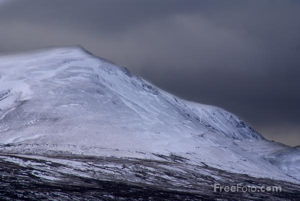 Picture of The Helvellyn Range - Free Pictures - FreeFoto.com