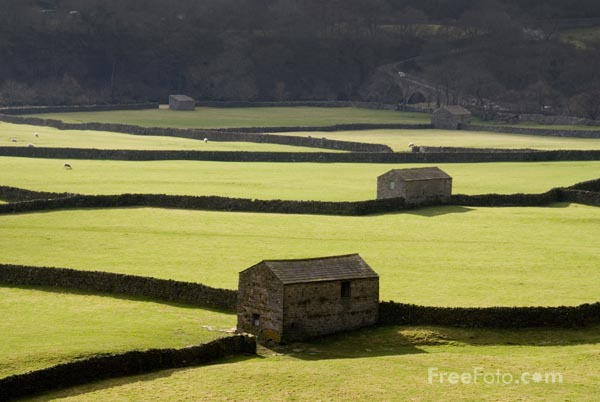 Picture of Gunnerside, Swaledale - Free Pictures - FreeFoto.com
